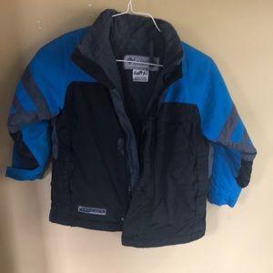 Columbia boys fleece lined jacket